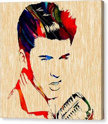 Ricky Nelson Collection Canvas Print by Marvin Blaine
