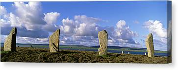 Ring Of Brodgar, Orkney Islands Canvas Print by Panoramic Images