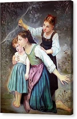 3 Sisters Canvas Print by Mayur Sharma