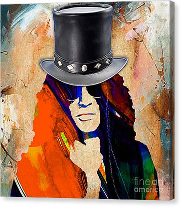 Slash Collection Canvas Print by Marvin Blaine