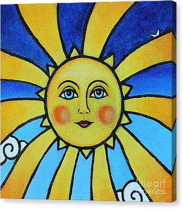 Soleil Canvas Print by Tricia Lesky