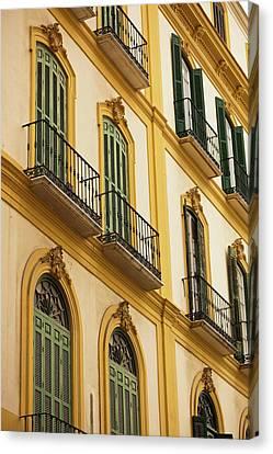Spain, Andalucia Region, Malaga Canvas Print by Walter Bibikow