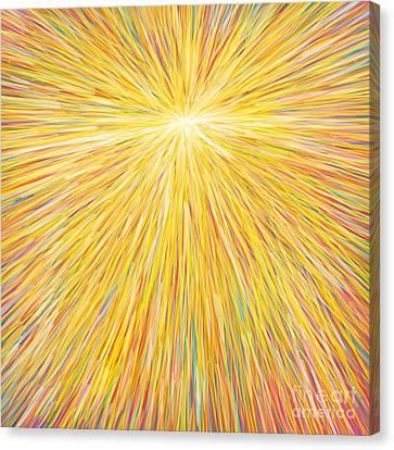 sun Canvas Print by Atiketta Sangasaeng