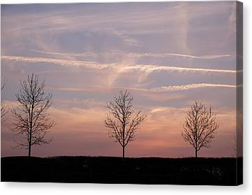 Sunset Canvas Print by Mark Severn