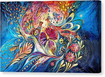 The Flowers Of Sea Canvas Print by Elena Kotliarker