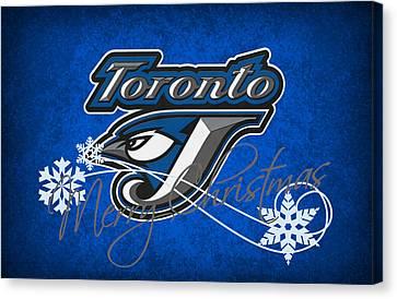 Toronto Blue Jays Canvas Print by Joe Hamilton