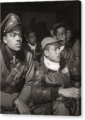 Tuskegee Airmen, 1945 Canvas Print by Granger