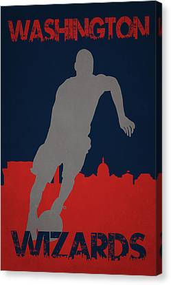 Washington Wizards Canvas Print by Joe Hamilton