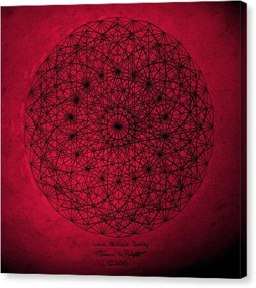 Wave Particle Duality Canvas Print by Jason Padgett