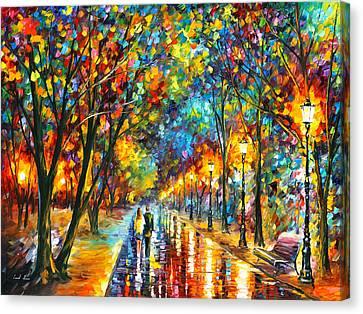 When Dreams Come True Canvas Print by Leonid Afremov