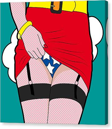 Wonder Woman  Canvas Print by Mark Ashkenazi