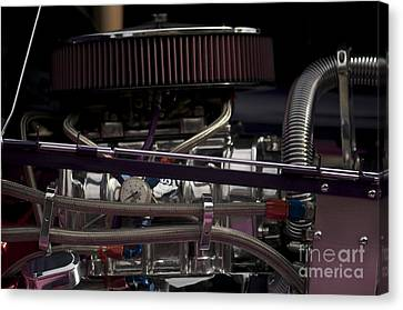 '31 Crown Victoria Engine Canvas Print by Sean Stauffer