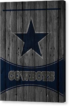 Dallas Cowboys Canvas Print by Joe Hamilton