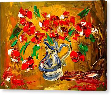 Roses Canvas Print by Mark Kazav