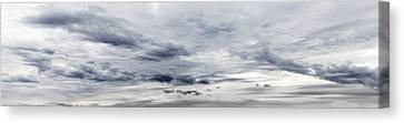 Clouds Canvas Print by Les Cunliffe