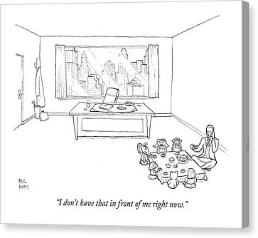 Untitled Canvas Print by Paul Noth