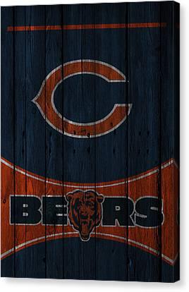 Chicago Bears Canvas Print by Joe Hamilton