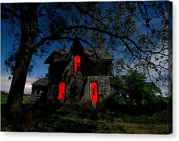 3am At The Farmhouse  Canvas Print by Cale Best