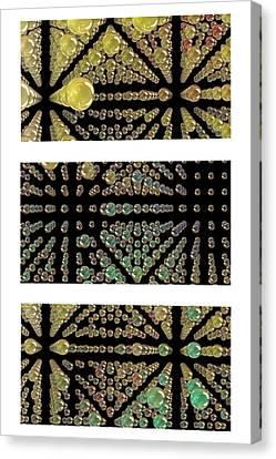 3d Spheres Canvas Print by Susan Leggett