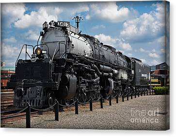 4-8-8-4 Big Boy Locomotive Canvas Print by Gary Keesler