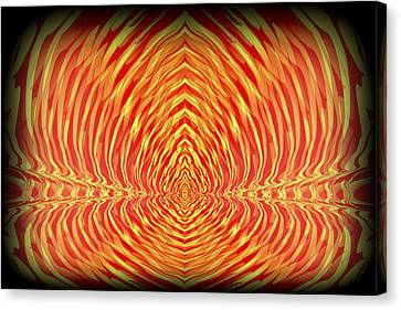 Abstract 98 Canvas Print by J D Owen