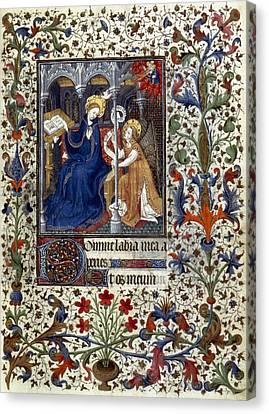 Annunciation Canvas Print by Granger