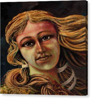 Aphrodite-venus Canvas Print by Genio GgXpress