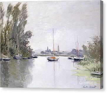 Argenteuil Canvas Print by Claude Monet