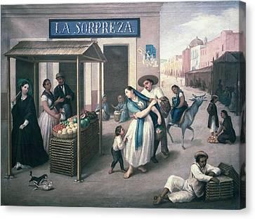 Arrieta, Jos� Agust�n 1802-1874. The Canvas Print by Everett