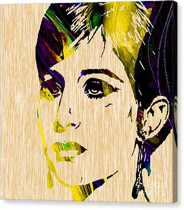 Barbara Streisand Collection Canvas Print by Marvin Blaine