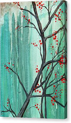 Cherry Tree  Canvas Print by Carrie Jackson