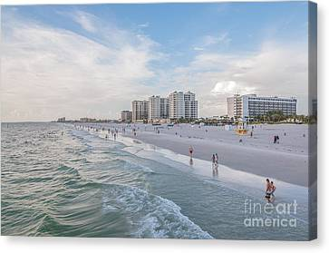 Clearwater Beach  Canvas Print by Amel Dizdarevic