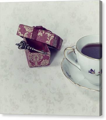 Coffee Time Canvas Print by Joana Kruse