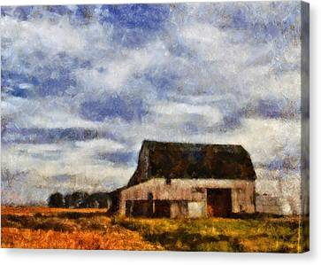 Down On The Farm Ohio Country Scene Canvas Print by Dan Sproul