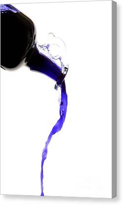 Dripping Liquid Canvas Print by Bernard Jaubert