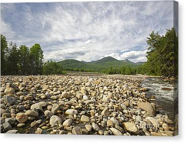 East Branch Of The Pemigewasset River - Lincoln New Hampshire Canvas Print by Erin Paul Donovan