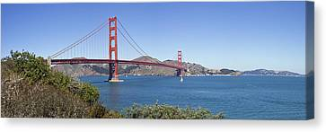 Golden Gate Bridge Canvas Print by Melanie Viola
