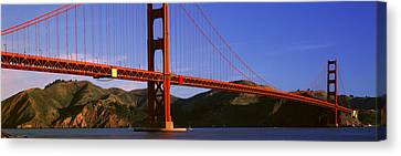 Golden Gate Bridge, San Francisco Canvas Print by Panoramic Images