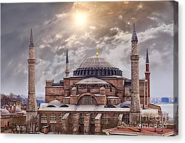 Hagia Sophia Istanbul Canvas Print by Sophie McAulay