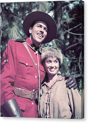 Howard Keel Canvas Print by Silver Screen