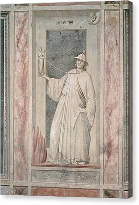 Italy, Veneto, Padua, Scrovegni Chapel Canvas Print by Everett