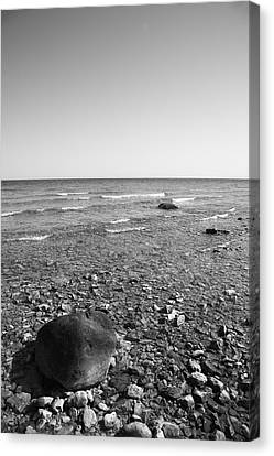 Lake Huron Canvas Print by Frank Romeo