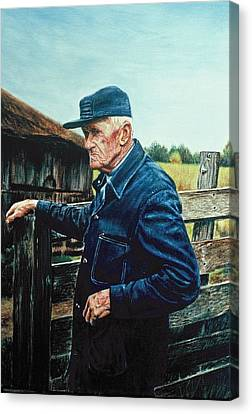 Lee Of Hartland Canvas Print by James Welch