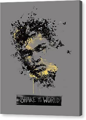 Muhammad Ali Canvas Print by Pop Culture Prophet