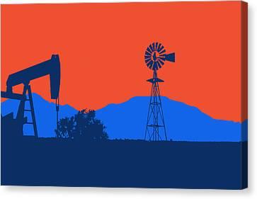 Oklahoma City Thunder Canvas Print by Joe Hamilton