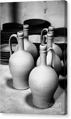 Pottery Canvas Print by Gaspar Avila