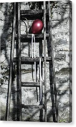 Red Balloon Canvas Print by Joana Kruse