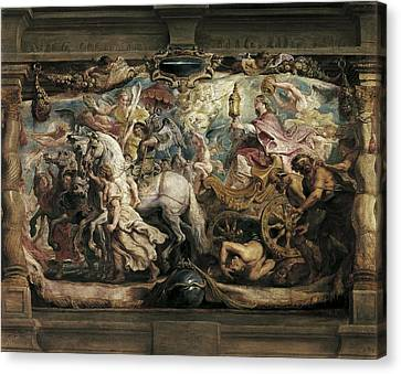 Rubens, Peter Paul 1577-1640. The Canvas Print by Everett