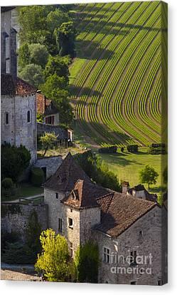Saint Cirq Lapopie Canvas Print by Brian Jannsen