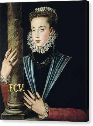 Sanchez Coello, Alonso 1531-1588 Canvas Print by Everett